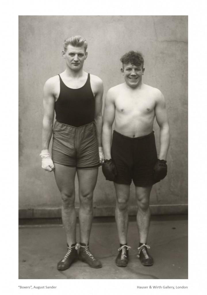 Boxers - August Sander_b