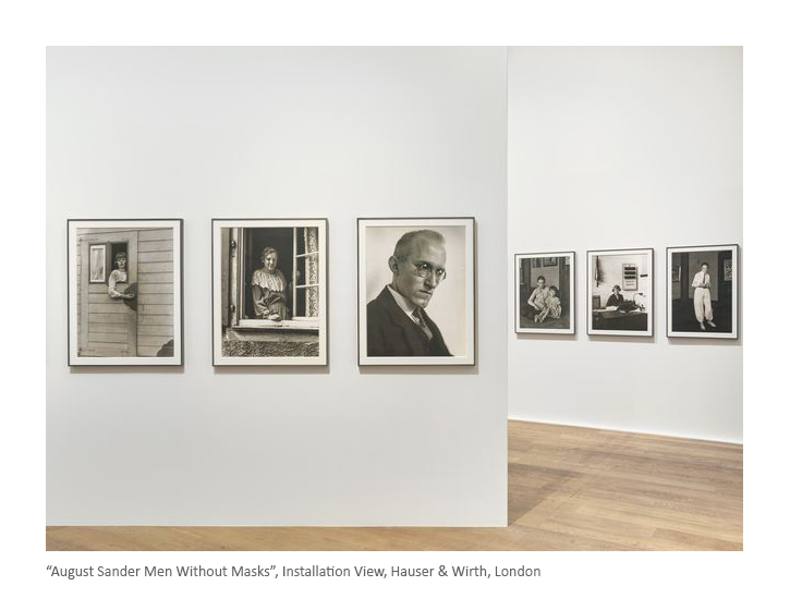 Hauser Wirth August Sander Install View_b