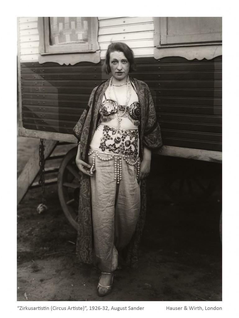 Zirkusartistin (Circus Artiste) August Sander 1926-1932_b